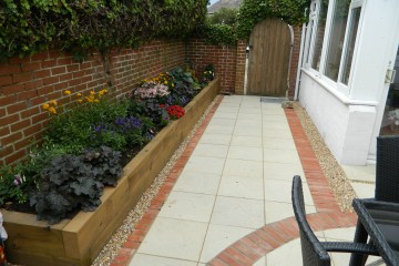 Courtyard Paving and Planting